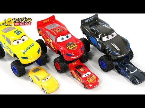 Thumbnail: Learning Color Special Monster Disney Pixar Cars Lightning McQueen Mack Truck Play for kids car toys