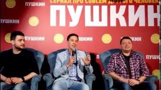 Сериал СТС «Пушкин» представили в Петербурге (6)