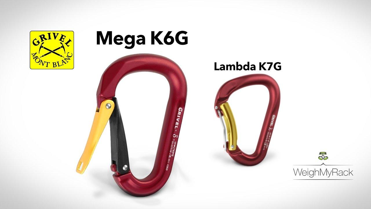 Grivel Twin Gate Mega K6g Carabiner Youtube