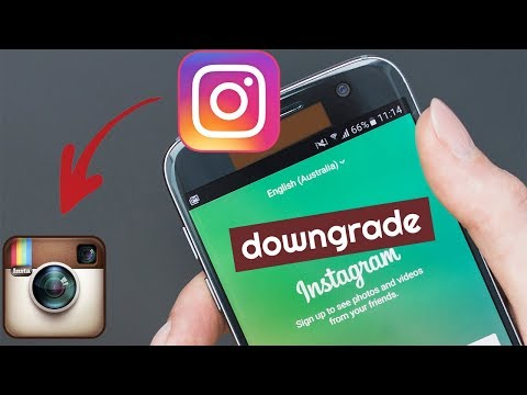Solusi Downgrade Instagram ya Download Sendiri!...