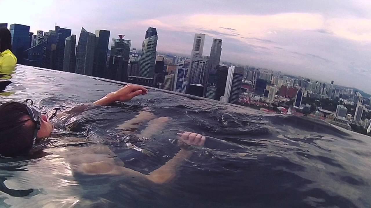 Sky Pool sky pool infinity pool at marina bay sands - youtube