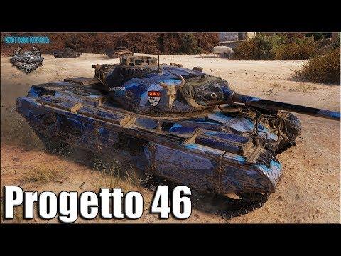 Как играют ТОП статисты на Progetto M35 mod 46 ✅ World of Tanks лучший бой