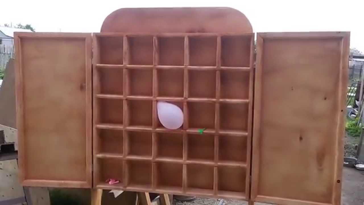 Лопни шарик аттракцион своими руками