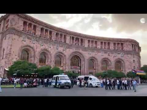 Сторонники Пашиняна собрались на митинг в центре Еревана