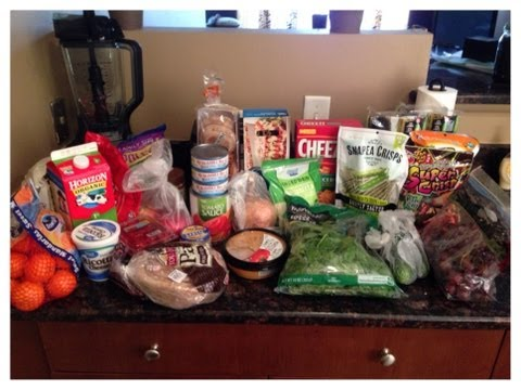 Grocery Haul: College Student