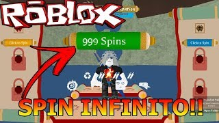 HOW TO HAVE INFINITE SPIN ON SHINOBI LIFE 2!!! ROBLOX