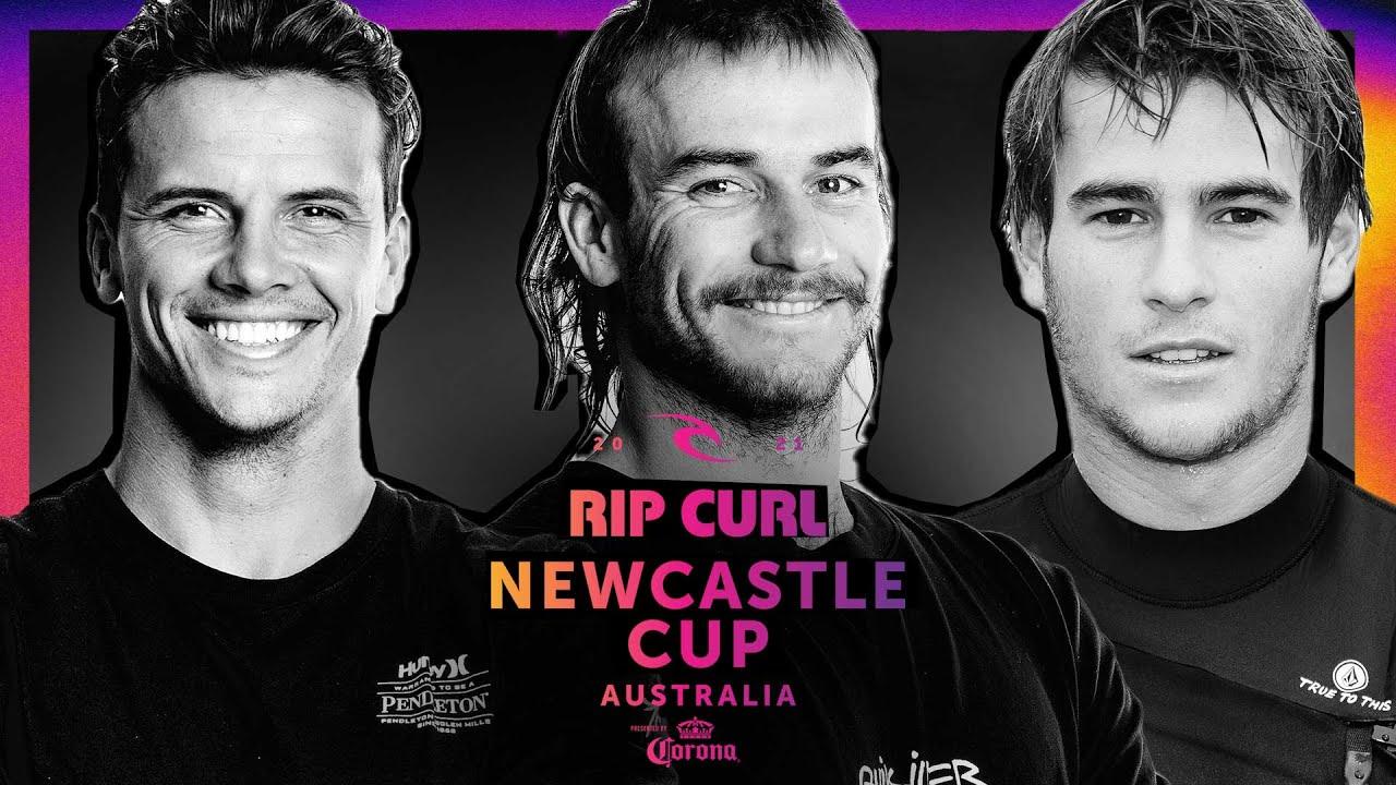 Julian Wilson Runs The Table In All Star Aussie Elimination Super Heat    Rip Curl Newcastle Cup