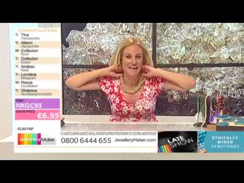 BANK HOLIDAY WEEKEND SPECIALS on the JewelleryMaker Late Show 29/8/15