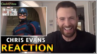 Chris Evans REACTION to NEW Captain America Dub