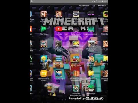 Comment mettre un pack de texture sur tablette minecraft pe - YouTube