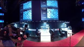 Watch in 360 VR the beginning of the final round of Norway Chess 2018