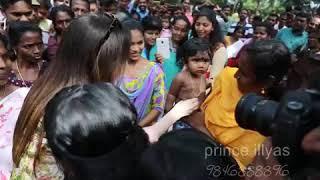 Nita Ambani visits relief camp