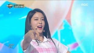 2016 MBC 가요대제전 - 보기만 해도 행복★ 미모 끝판왕 걸그룹 결성! 하니&설현&쯔위의 내 남자친구에게 20161231