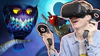 MAGICAL FAIRY TALE IN VIRTUAL REALITY! | Luna VR (HTC Vive Gameplay)
