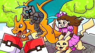 Minecraft: POKEMON LUCKY BLOCK RACE - Lucky Block Mod - Modded Mini-Game