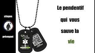 Baixar Vital eCode le pendentif qui peut vous sauvez la vie