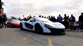 Mclaren P1 Shuts Down Supercar Meet