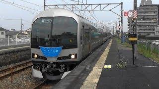 【快速マリンライナー】JR西日本 瀬戸大橋線 妹尾駅に到着