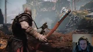 God of War Story Trailer Reaction!