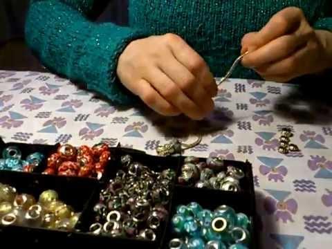 d7038ebf13ba Taller de artesania - Como hacer una pulsera estilo pandora -  theartcrafts.com