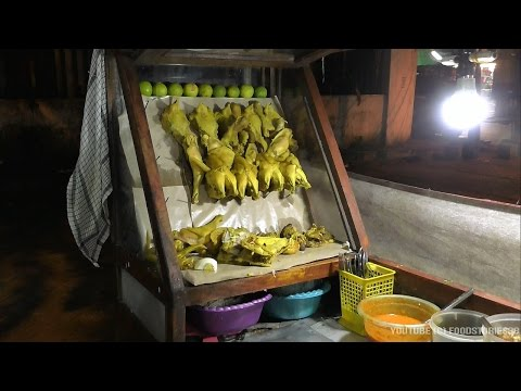 Indonesian street food - Delicious Lamongan style Chicken Soto, at Surabaya City
