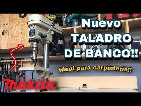 Taladro de Banco Makita TB131 -¿El mejor para carpintería? -Unboxing, armado y primeras impresiones!