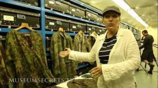 Military Fashion in the storage room at the Imperial War Museum, London (Vlog)