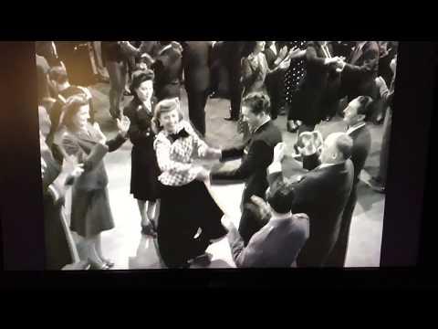 Christmas in Connecticut 1945 -Barbara Stanwyck cracks up at Reginald Gardiner!