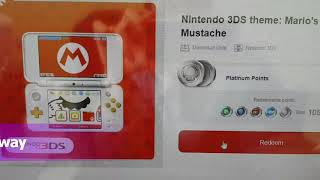 Kintips giveaway Nintendo 3DS theme Mario Mighty mustache