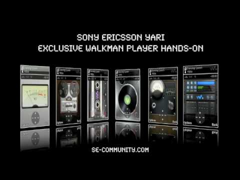Sony Ericsson Yari - Walkman Player impressions