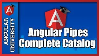 💥 Angular Built-In Pipes - Complete Catalog