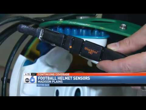 H.S. Football Team Wears New Helmet Sensors To Fight Against Concussions