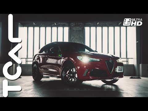 [4K] 暴力四葉草 Alfa Romeo Stelvio Quadrifoglio 新車試駕 - TCAR