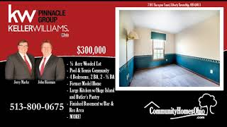 Home for Sale in Welbourne Manor of Liberty Township OH 45011 in Lakota School District