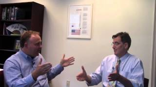 Dr. David Ryan and Johnathan Whetstine, PhD discussing his recent publication_ Part 1