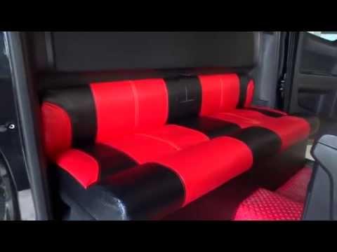 เบาะรถยนต์ เบาะนั่งแคป D-max หนังเคฟล่า