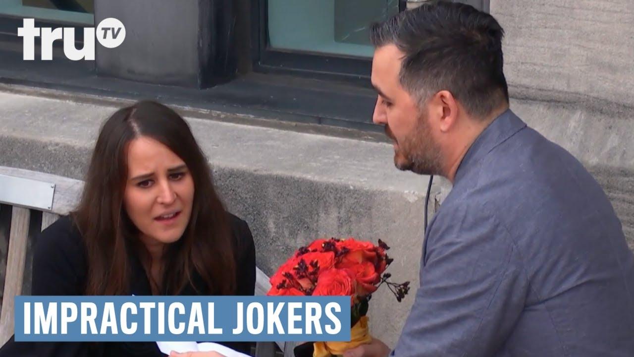 Download Impractical Jokers - Q's Killer Engagement Speech | truTV