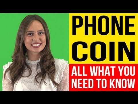 PHONECOIN (PHON) - What Is PhoneCoin - PhoneCoin ICO Review