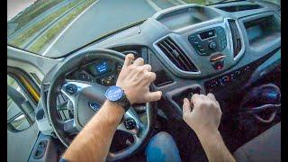 Ford Transit   4K POV Test Drive #132 Joe Black