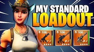 MY EVERYDAY LOADOUT | Rio and her Best Weapons in Fortnite Save the World 2018