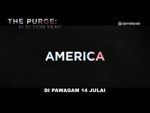 THE PURGE: ELECTION YEAR l PLEDGE SAFE l IN CINEMAS 14 JULY