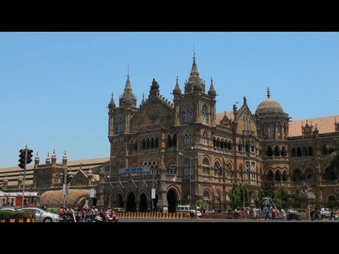 Chhatrapathi Shivaji Terminus in Mumbai