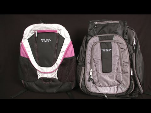 Five Star Big Mouth & Expandable Backpacks from Five Star - YouTube