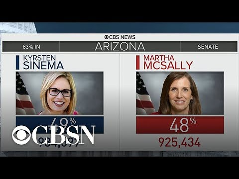 Arizona Senate race still too close to call