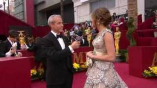 Miley Cyrus - Red Carpet [The 81st Annual Academy Awards]