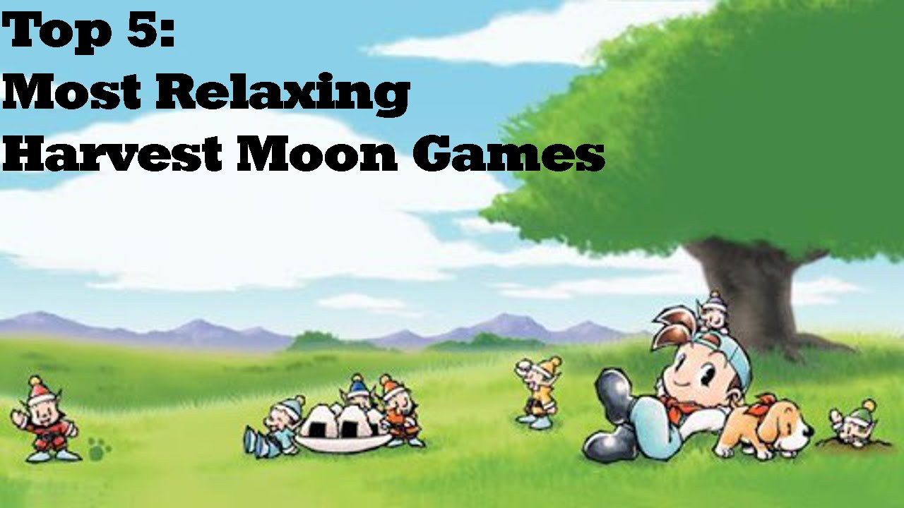 Simply Press Start-Top 5 Most Relaxing Harvest Moon Games