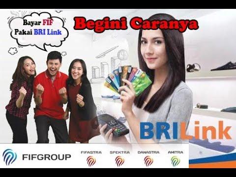 Cara bayar FIF lewat EDC BRI Link