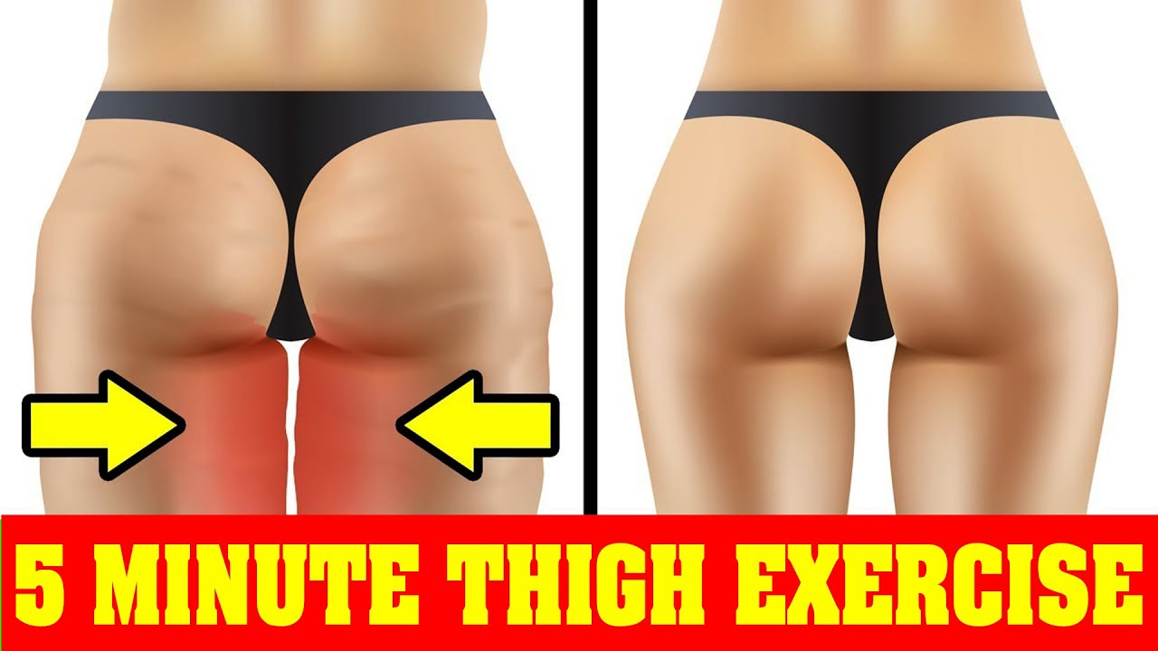 Lose Thigh Fat & Leg Fat in 1 Week with Simple Exercises - Get Slim Thighs & Toned Legs