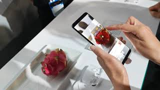 Huawei Mate 20 Pro Measuring the Calories of your food