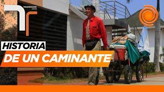 De Ushuaia a Alaska: la insólita travesía de un caminante argentino varado en plena pandemia